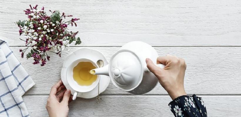 Te till frukost