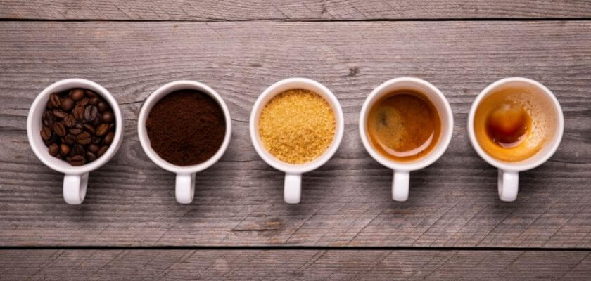 Kaffe x 5
